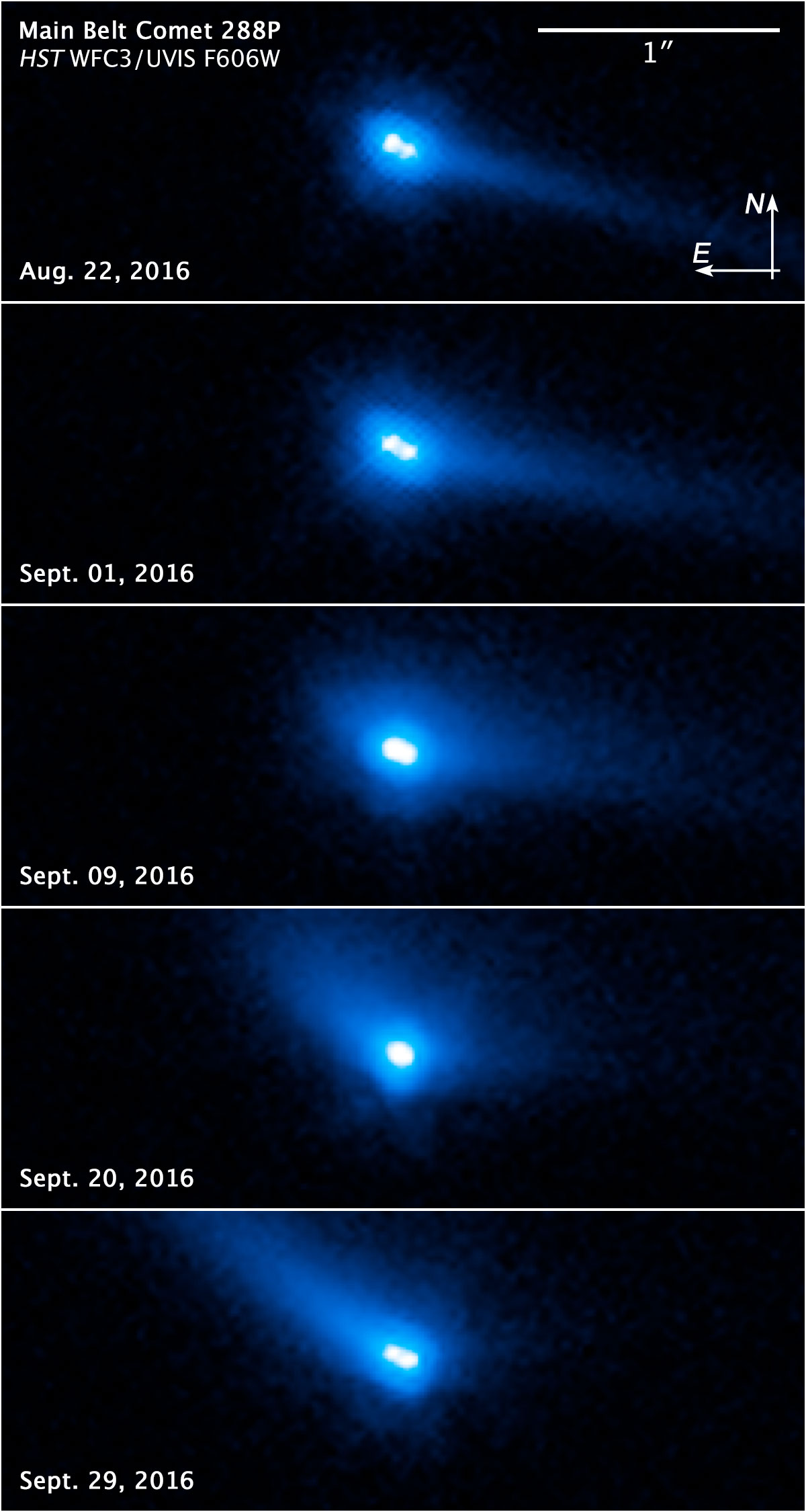 Hubble Telescope Discovers A Binary MainBelt Comet - Amazing videos hubble telescopes yet