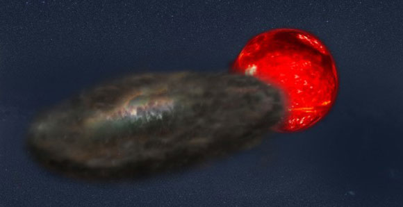 Binary Star System Produces the Longest Lasting Eclipses Known