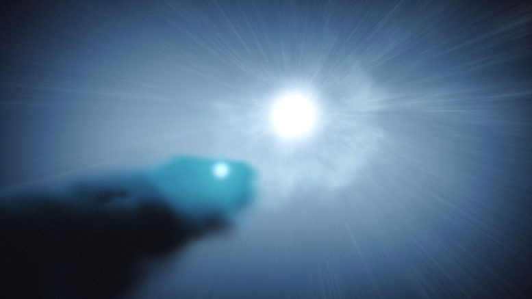 Binary Star System Shoots Cosmic Rays