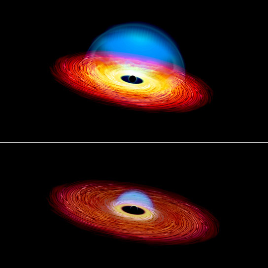 Black Hole Creates Changing Look Quasar
