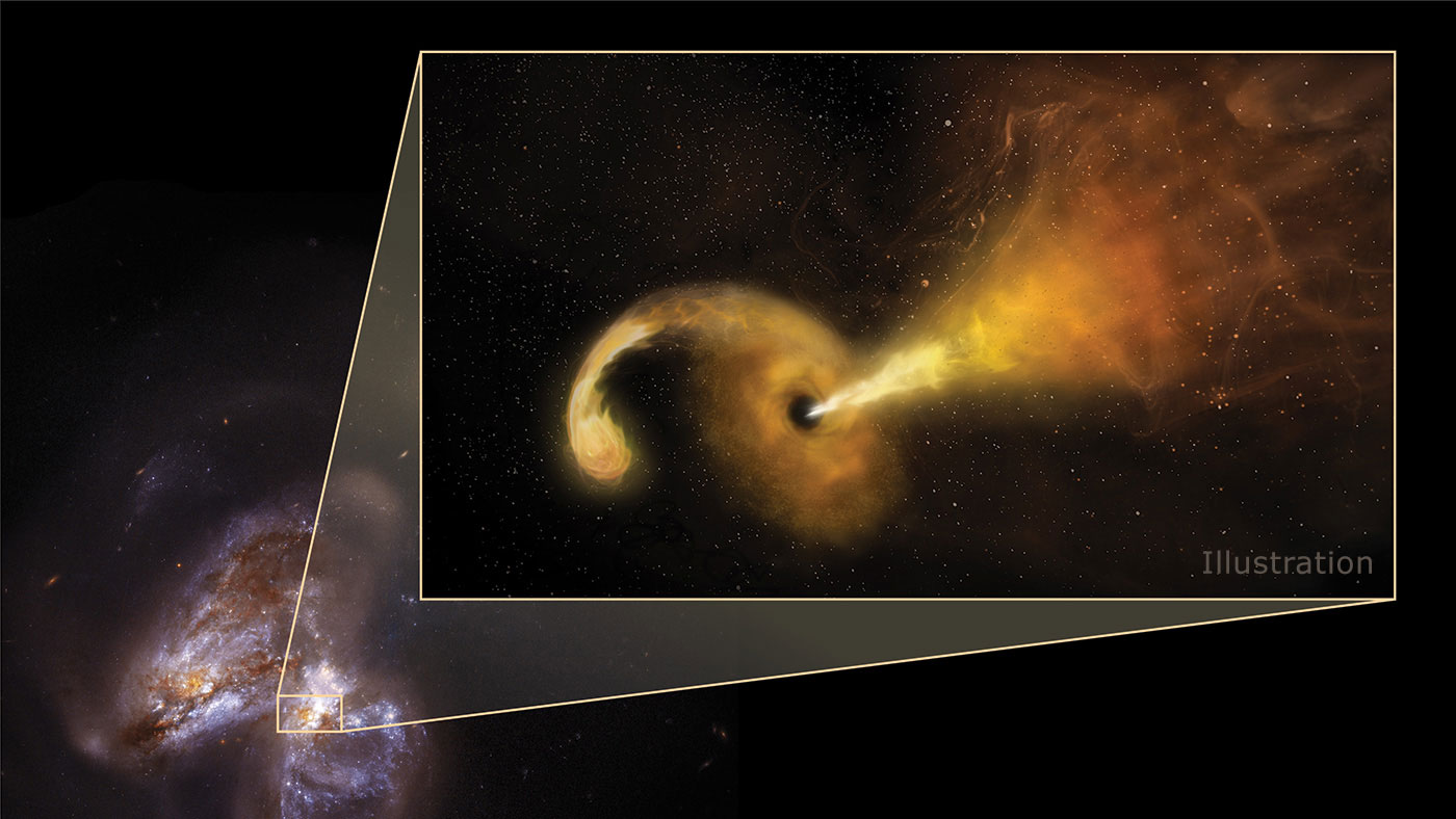 Astronomers Directly Image a Black Hole Ripping Apart a Star