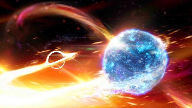 Scientists Believe They Saw a Black Hole Swallowing a Neutron Star