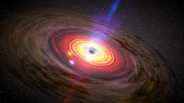 Black Hole in SAGE0536AGN is 350 Million Times the Mass of the Sun