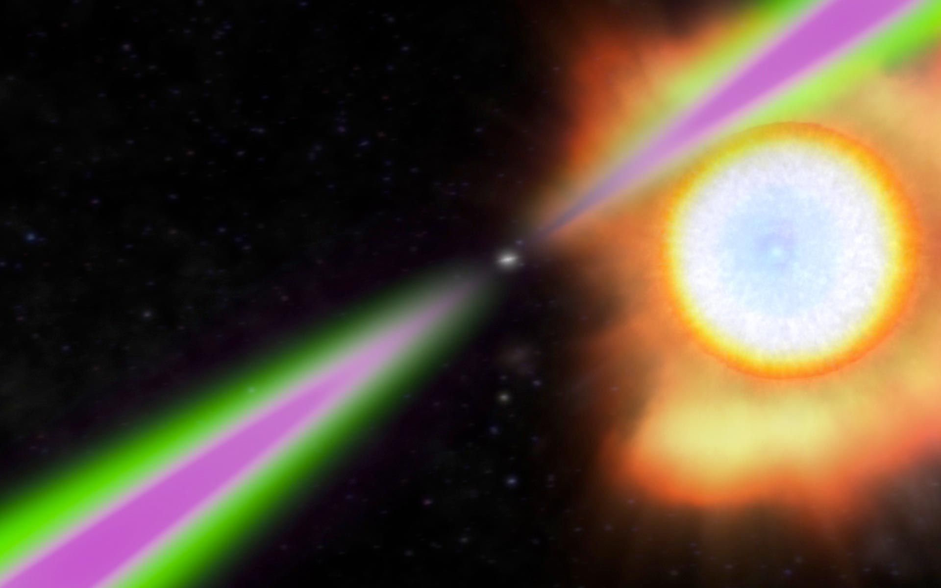 Powerful Pulsating Gamma Rays Emitted From Neutron Star Rotating an Incredible 707 Times a Second - SciTechDaily