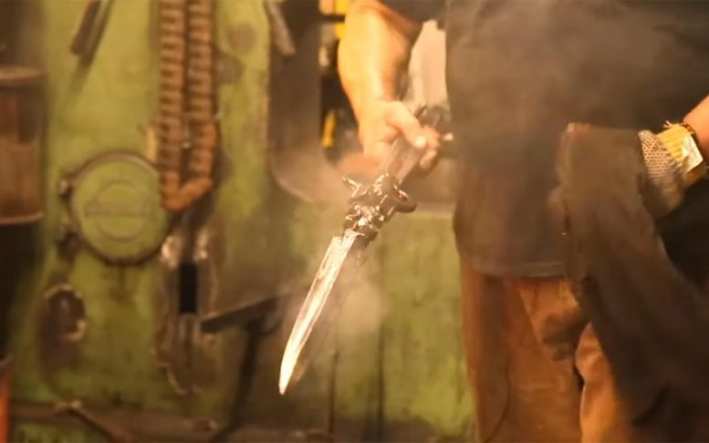 Blacksmith Forge Sword Chemistry