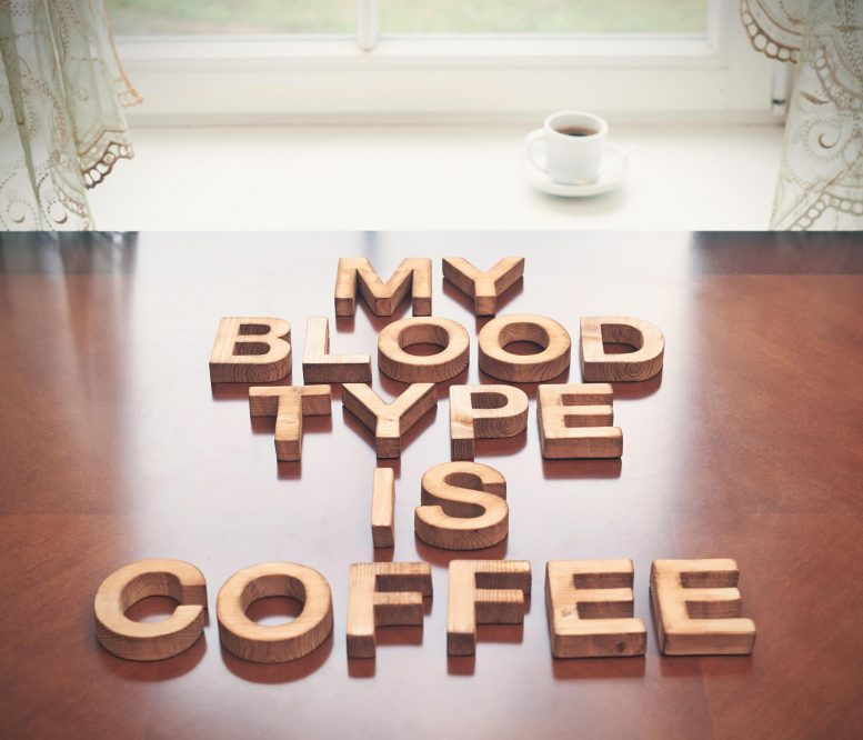 Blood Type Coffee