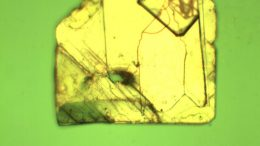 Blue-Emitting Halide Perovskite Crystal