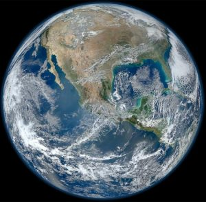 'Blue Marble' Image of the Earth