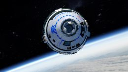 Boeing CST-100 Starliner Spacecraft in Orbit