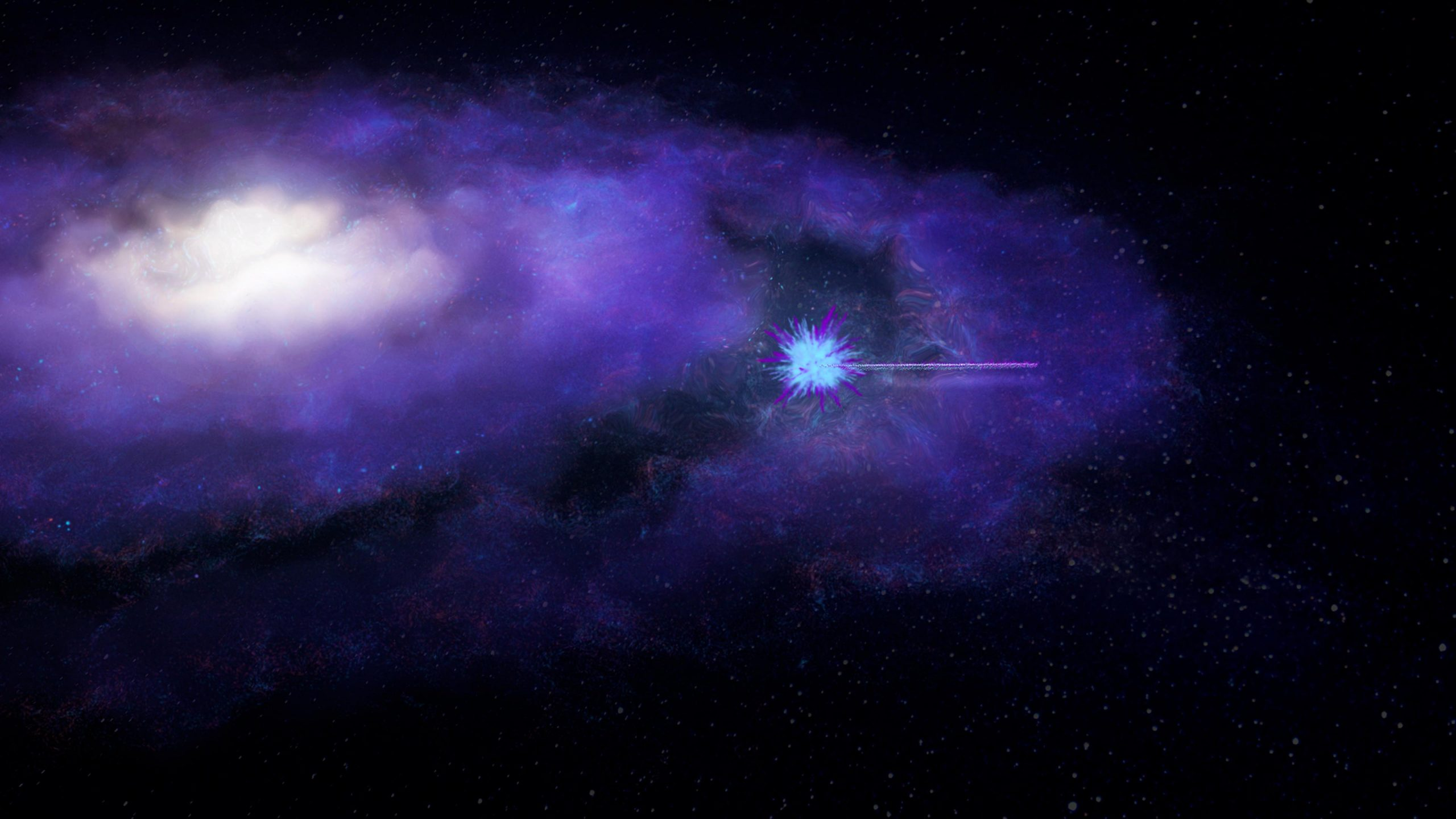 The Science Show: Cosmic bursts unveil universe's missing matter
