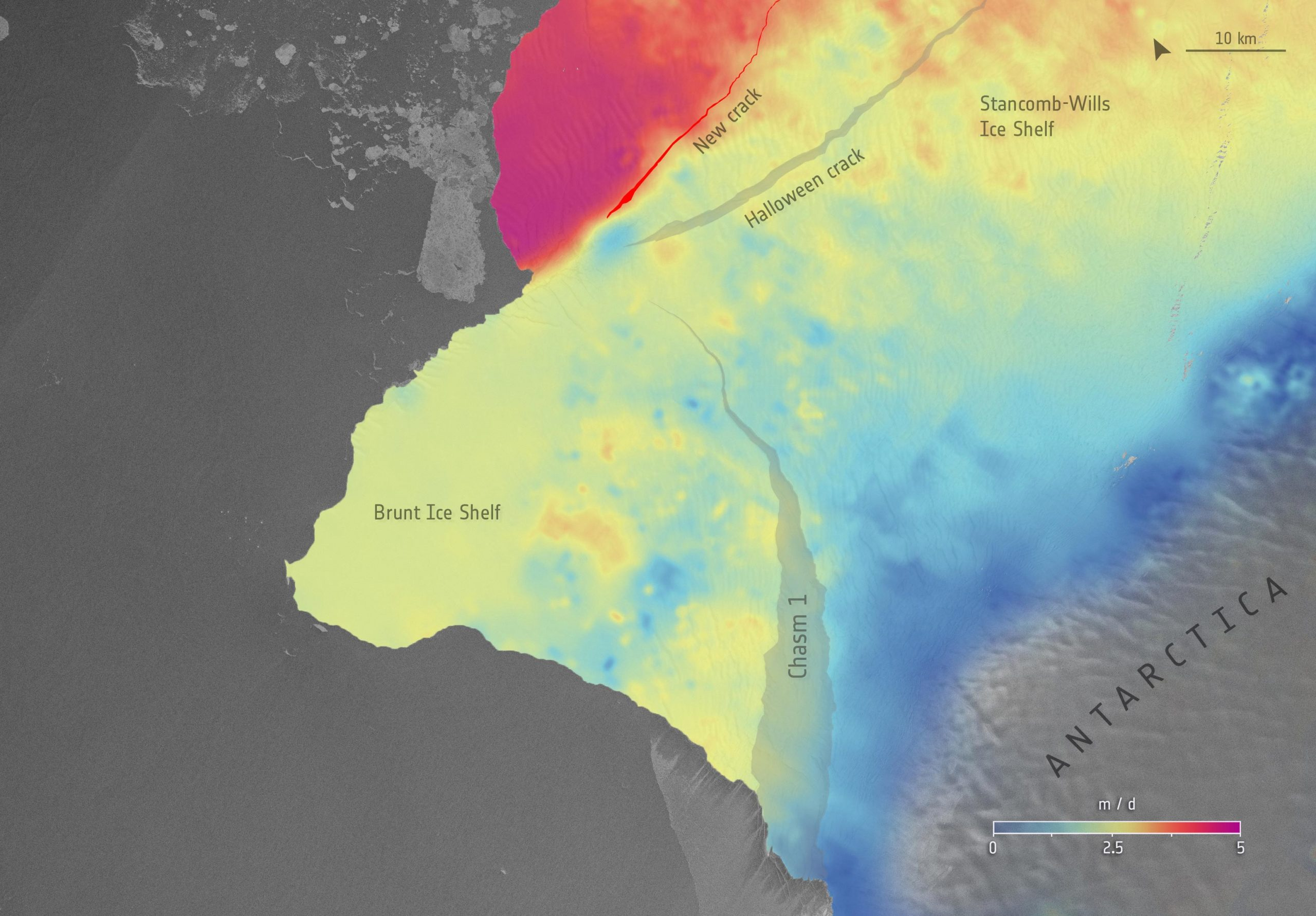 Comments on: Is the Brunt Ice Shelf in Antarctica on the Brink? - SciTechDaily