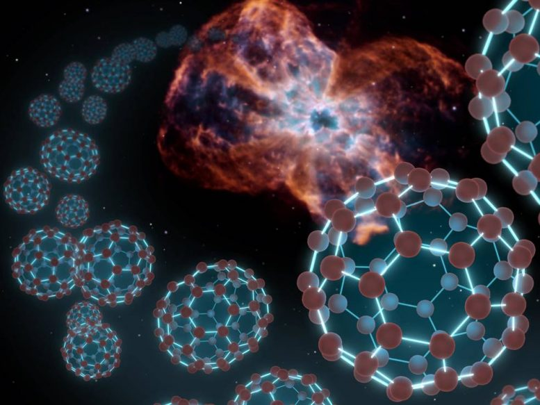 Buckyballs in Space
