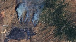 Bush Fire Scorches Lands Near Phoenix on June 14 2020