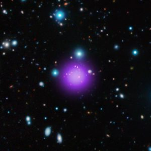 CL J1001 Record-Breaking Galaxy Cluster Discovered