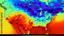 CO2 Distribution North America Summer 2010