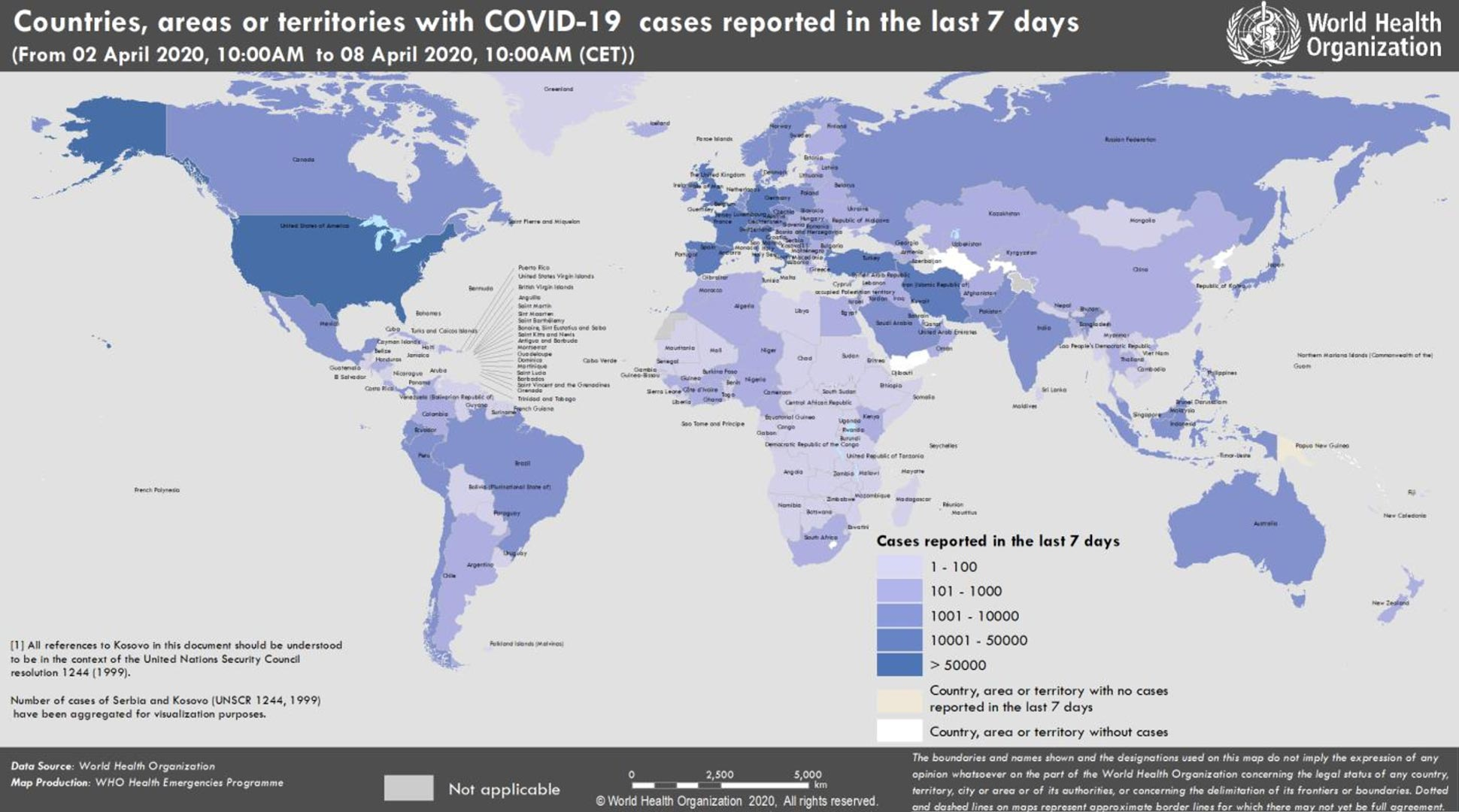 Coronavirus World Map 1 353 361 Confirmed Cases 206 Countries 73 639 Deaths