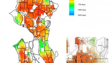 COVID Diffusion Timing Seattle