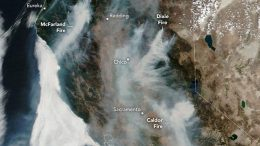 California Burning August 2021 Annotated