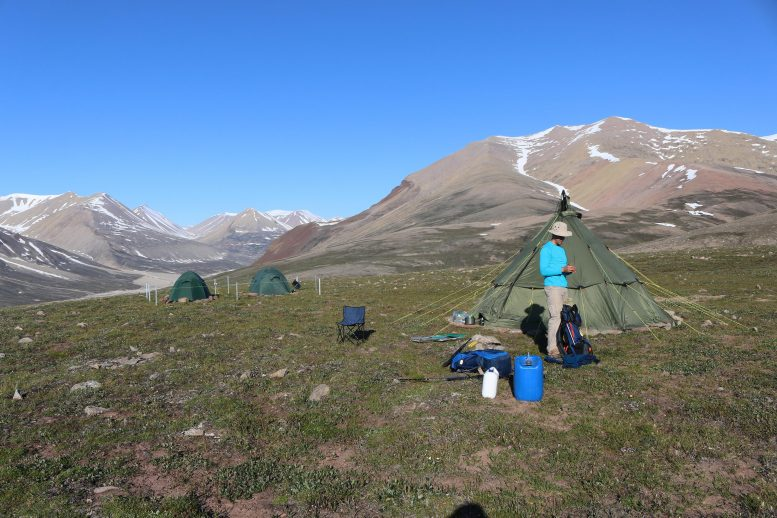 Camp Site in East Greenland