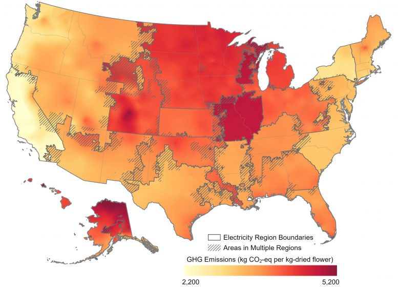 Carbon Emissions By Region USA