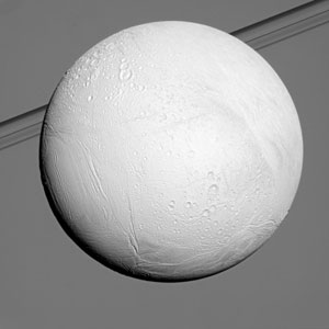 Cassini Begins Flybys of Saturn Moon Enceladus