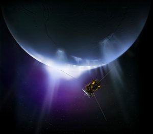 Cassini Closes in on Enceladus for the Last Time