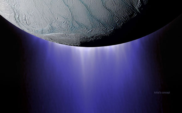 Cassini Completes Dive Through Enceladus Plume