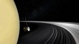 Cassini Data Show Saturn's Rings Relatively New