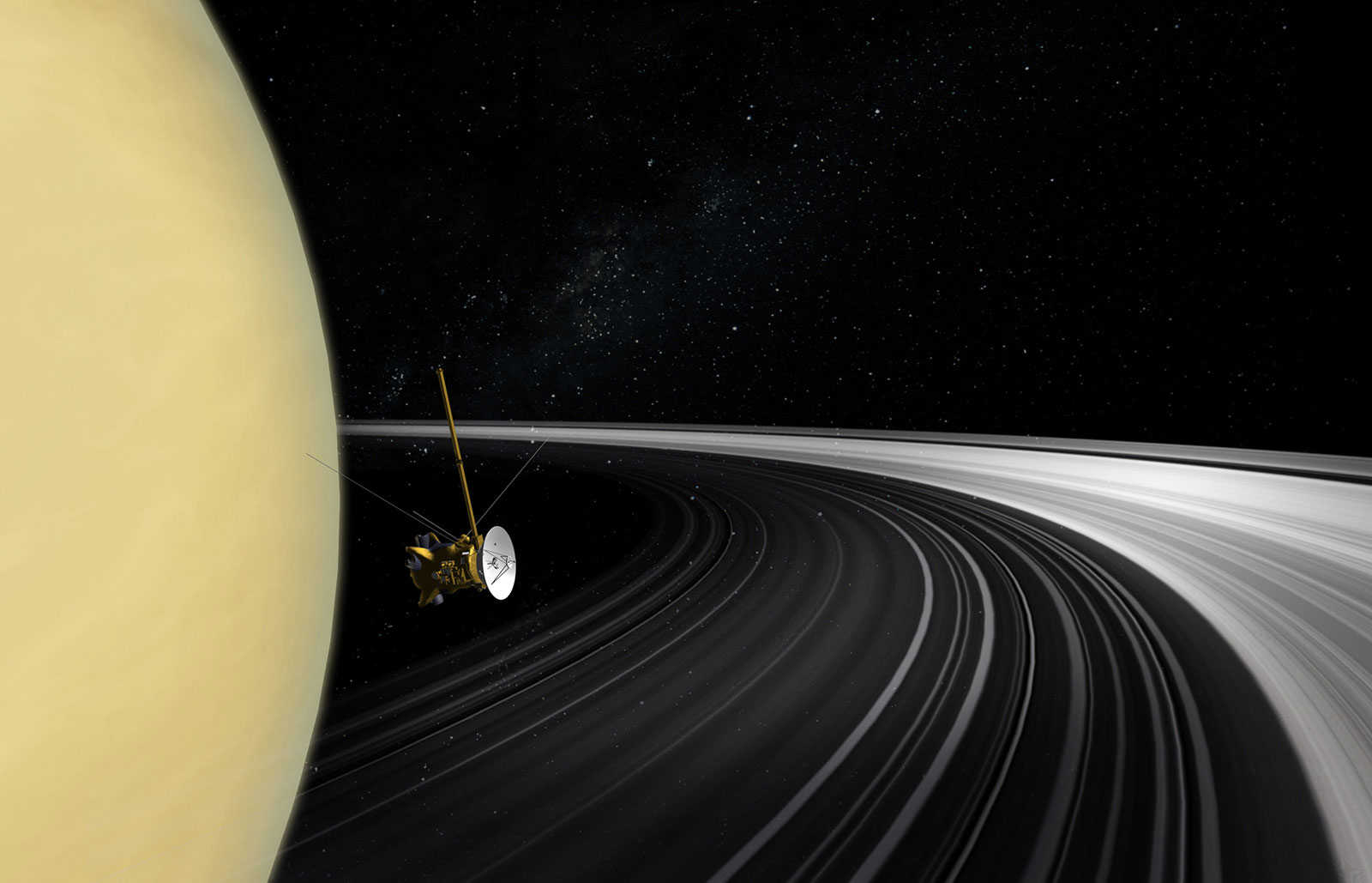Saturn's Rings Relatively New, Formed Much Later Than The ...