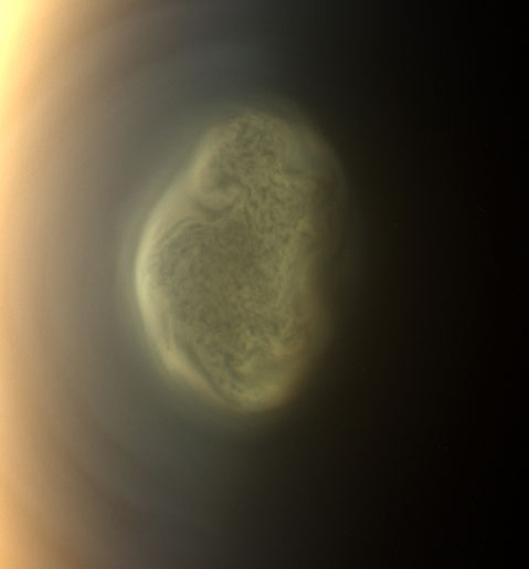 Cassini Finds Monstrous Ice Cloud