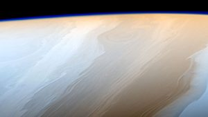 Cassini Image of Clouds on Saturn