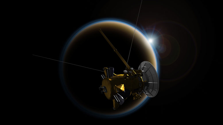 Cassini Makes Its Last Flyby of Titan