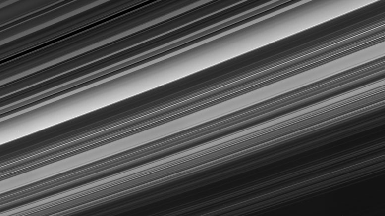 Cassini Panoramic View of Saturn's Rings