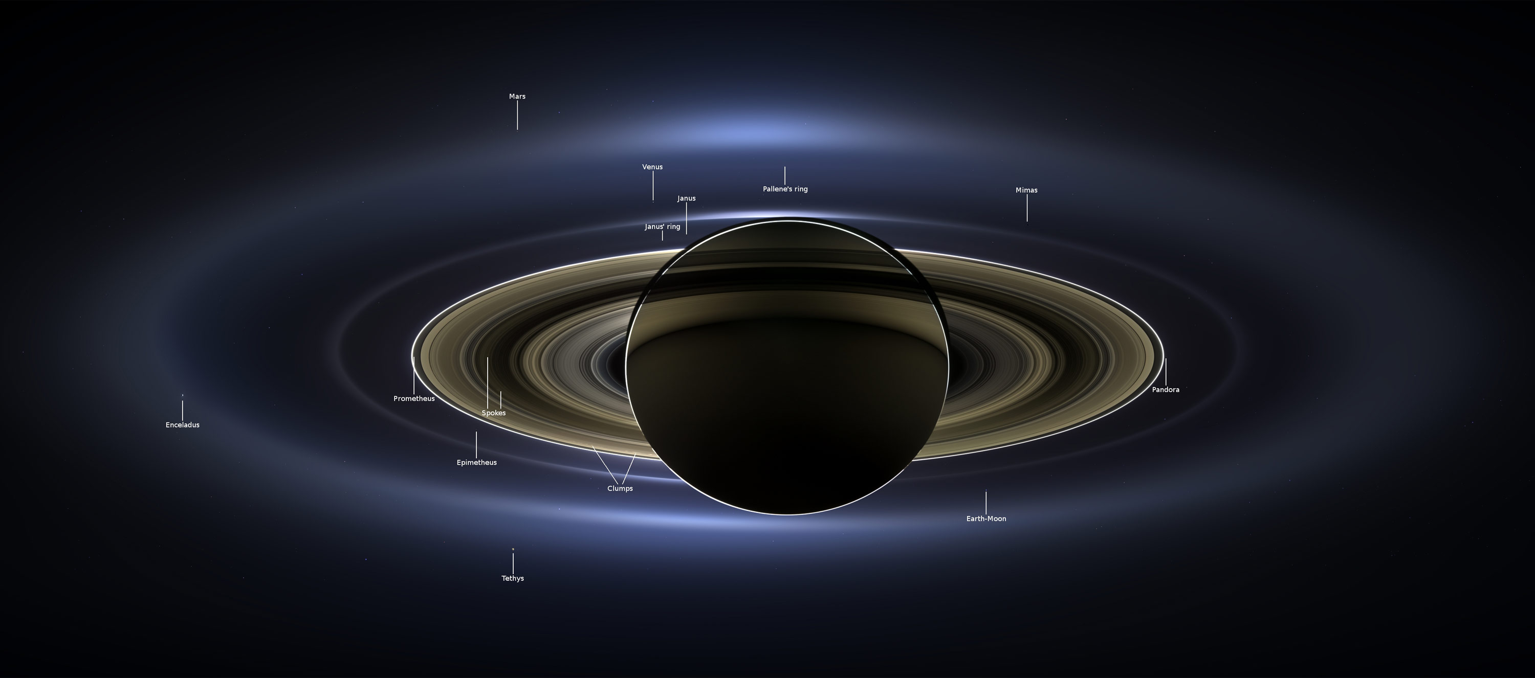 new pictures from saturn cassini - photo #1