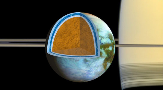 Cassini Reveals Titan Has a Very Salty Ocean