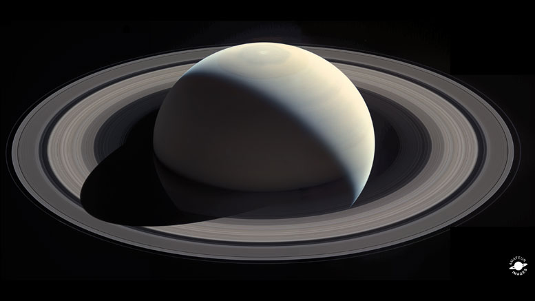 Cassini Saturn Mosaic