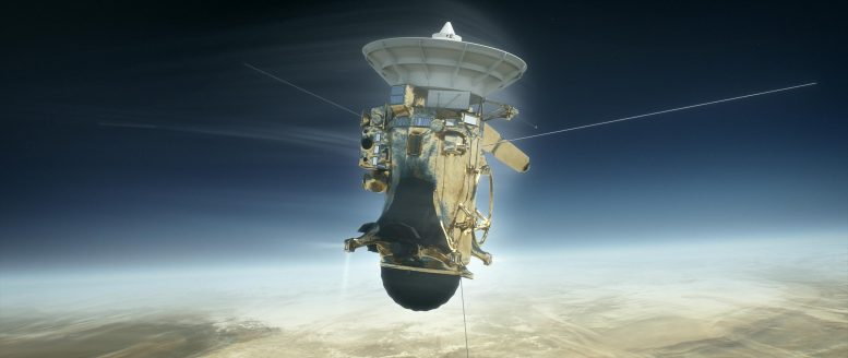 Cassini Saturn's Atmosphere