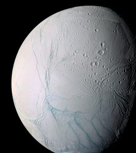 Cassini Sees Heat Below the Icy Surface of Enceladus