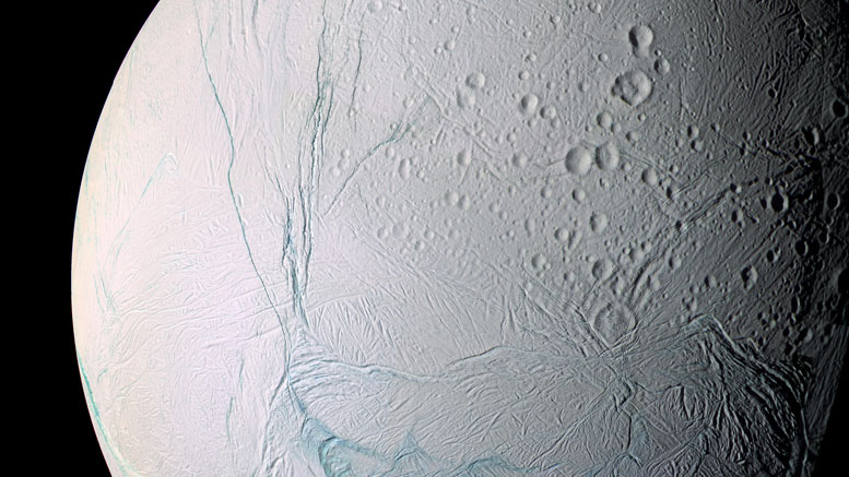 Cassini Sees Heat Below the Surface of Enceladus