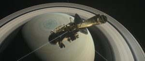 Cassini Set to Make Its First Dive Through Saturn and Its Rings