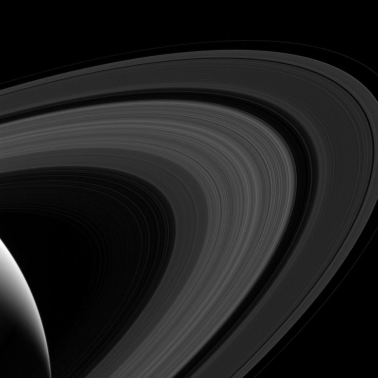 Cassini Spacecraft Gets a Better View of Saturn's Rings