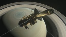 Cassini Spacecraft Set to Make Its First Dive Through Saturn and Its Rings