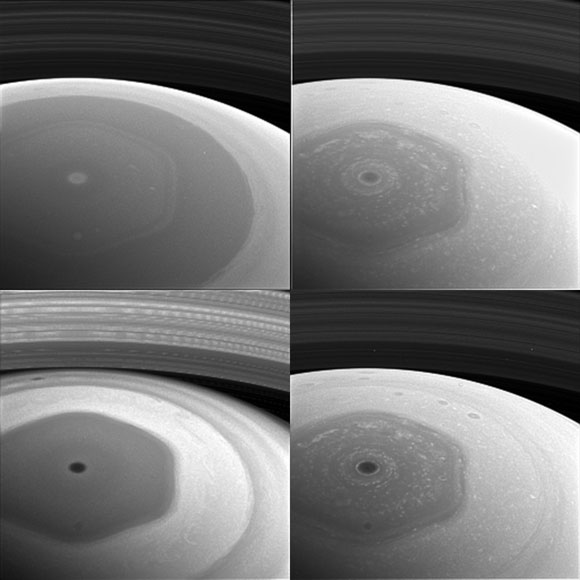 Cassini Spacecraft Shows Saturn's Northern Hemisphere
