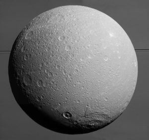 Cassini Spacecraft Views Dione for the Last Time