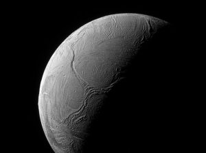Cassini Spacecraft Views Enceladus' South Pole