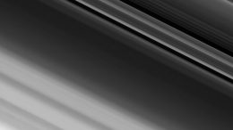 Cassini Spacecraft Zooms in on Saturn's A Ring