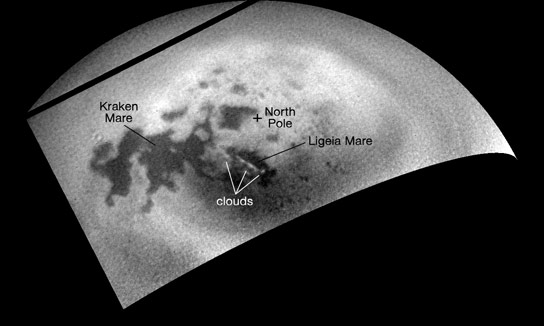 Cassini Tracks Clouds Developing on Titan