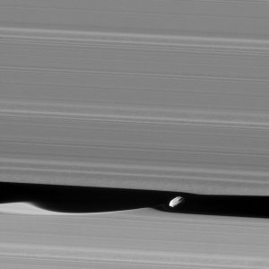 Cassini Views Daphnis