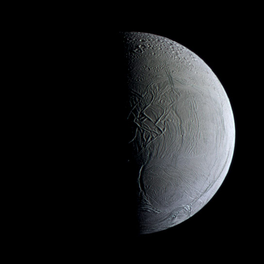 Cassini Views Enceladus