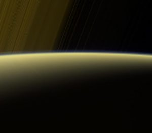 Cassini Views Haze on the Horizon of Saturn